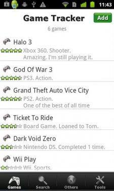 JV liste jeux