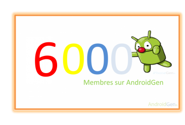 6 membres AndroidGen