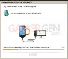 Mise à jour Kies ICS Samsung Galaxy Note7