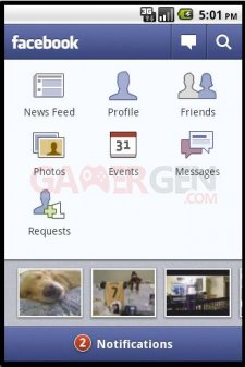 Application Facebook Android 130