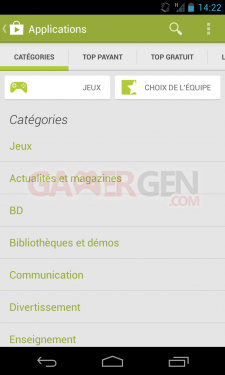 Google_Play-Store-v4.0.25_Catégories-applications