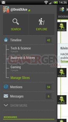 Application Twitter Slices for Twitter AndroidGen1