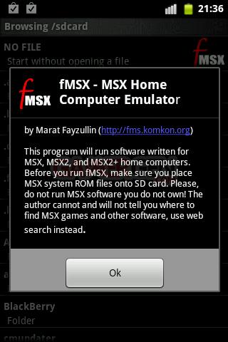 fMSX-émulateur-msx-pour android0004