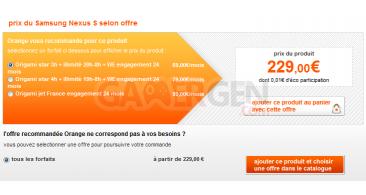 offres-orange-nexus-s-google-samsung-prix-forfait