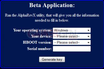 AlphaRevX generate