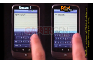 blindtype nexus one