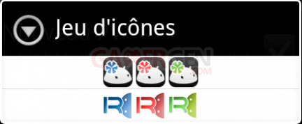 androIRC icônes androirc