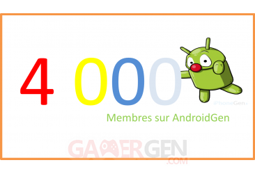 androidgen 4000 membres