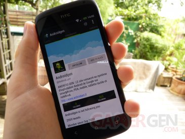 Client Twitter Slices pour Android
