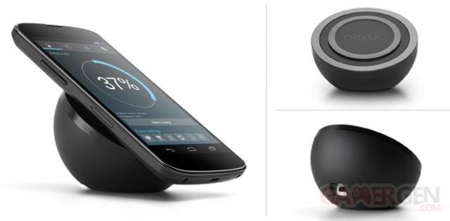 Nexus 4 chargeur sans fil orb