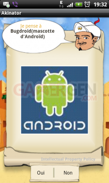 akinator-personnage-fictif androidgen-android-bugdroid-mascotte-google-tablette-ardoise-smartphone-gsm-telephone-portable
