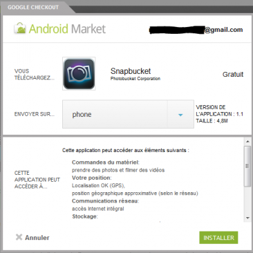 android market androidmarket
