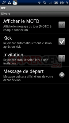 androIRC androIRC3