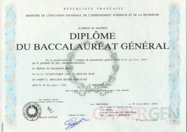 BACCALAUREAT-S