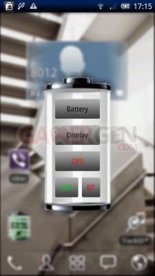 Battery Widget battery 1