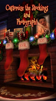 christmas-hd chaussettes