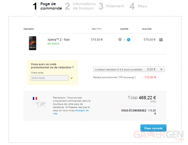 commande-sony-xperia-z-promotion-reduction