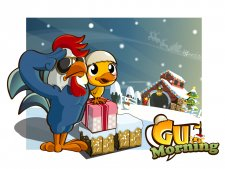 Download Gu Morning Christmas version, available today in the App Store! Have a Gu holiday!