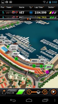 f1 course