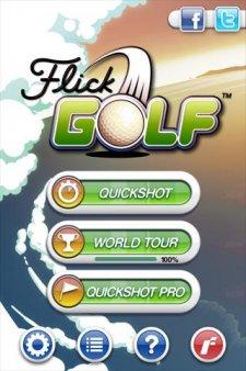 flick-golf modes