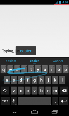Google Keyboard 4.30