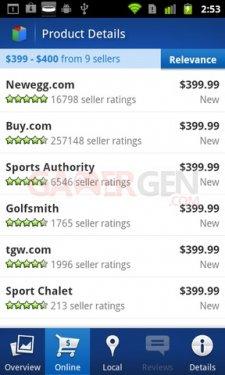 google shopper online-prices