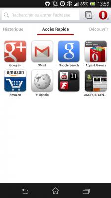 opera internet navigateur