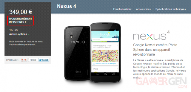 nexus-4-google-play-store-momentanement-indisponible