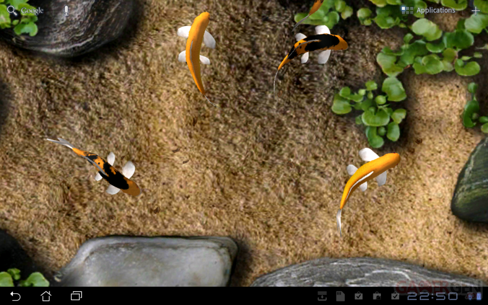 Image pic2 lwp koi free live wallpaper fond ecran anime for Fond ecran android tablette