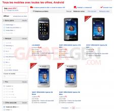 Téléphone portable (Toutes les offres, Androïd)- Tous les mobiles1